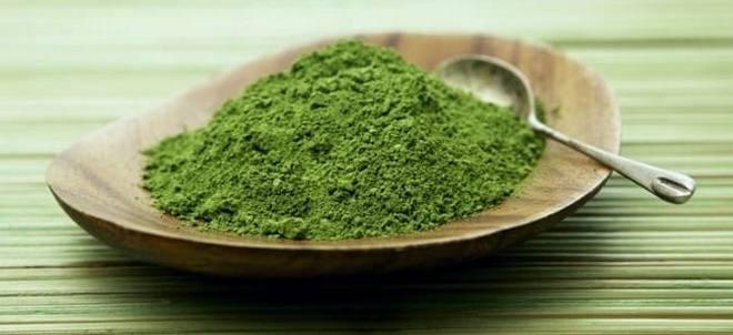 Зелёный порошок Матча