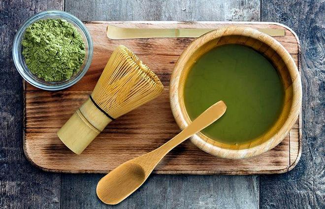 Использование набора для японской чайной церемонии